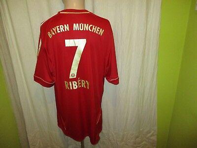 "FC Bayern München Adidas Triple Trikot 2011/12 ""-T---"" + Nr.7 Ribery Gr.XXL Neu"