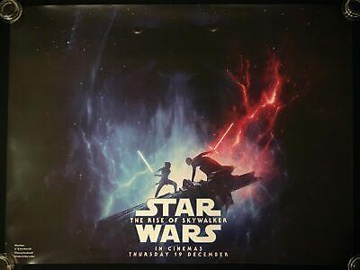 Star Wars The Rise of Skywalker Original Quad Movie Poster 2019