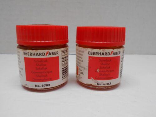 EBERHARD FABER Schellack shellac schellak 8783 Lot of 2 gold leaf application