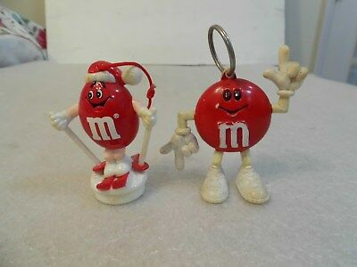 2 M&M Red Figures-Ornament & Key Chain for sale  Cumberland