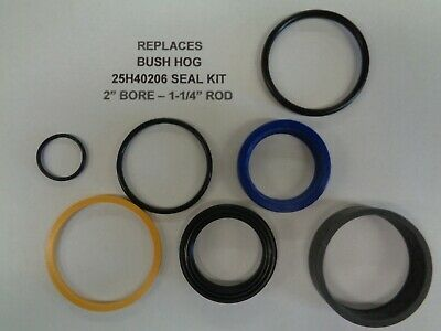 25h40206 Bush Hog Seal Kit Replacement 2 Bore 1-14 Rod See Description