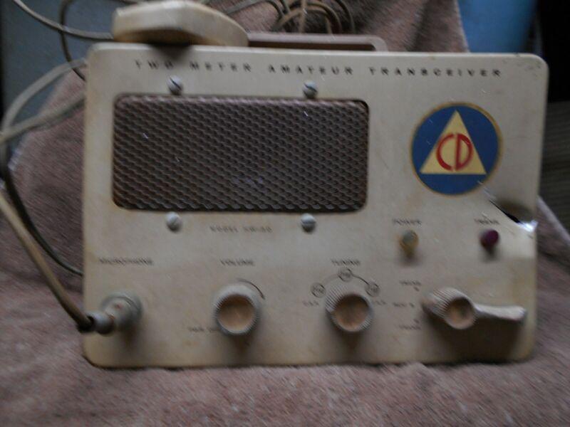 Civil DefenseRadio from 1960