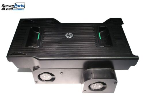 642166-001 HP Z820 Z840 Workstation Air Shroud and (6) Fan Assembly