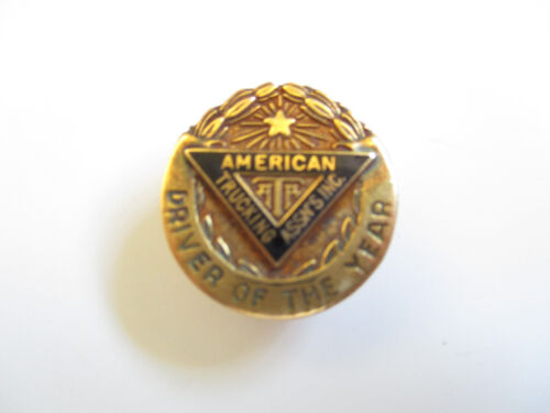 ATA American Trucking Assn Safe Driver Employee Award Trucker Trucking Truck Pin