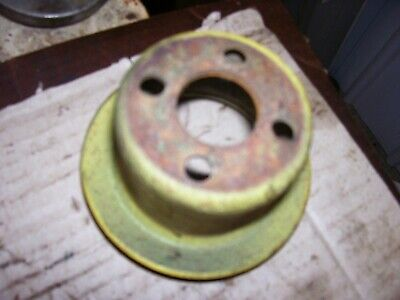 Vintage Oliver Super 55 Gas Tractor -engine Fan Water Pump Pulley -1958