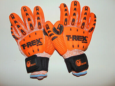 Trex by Magid Impact Gloves XXL 2XL T-Rex Cut Level 5 USED TWICE - GREAT SHAPE *