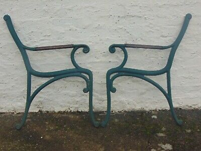 Vintage Cast Iron Bench Ends (Lot 14)