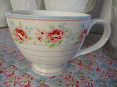 Greengate Meryl mega white Teacup, Teetasse, neu  *z*