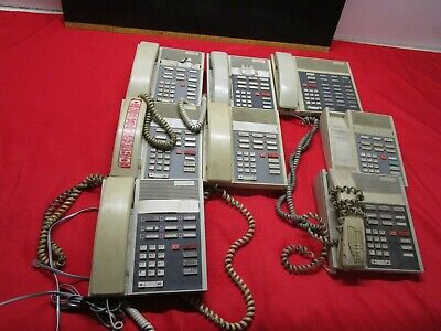 Phone Meridian Esprit Vantage 4 By Northern Telecom Office Phone Lot Of 8 Used