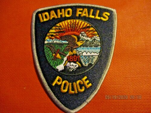 Collectible Idaho Police Patch,Idaho Falls,New