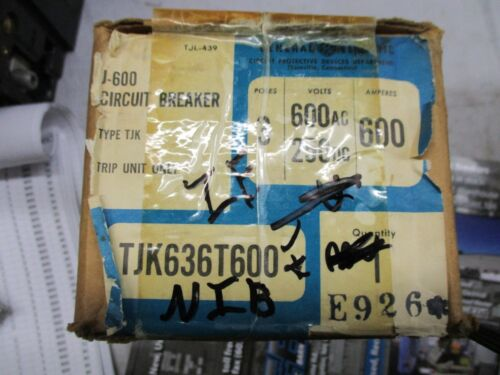 GE TJK636T600, 600 AMP TRIP UNIT- NEW