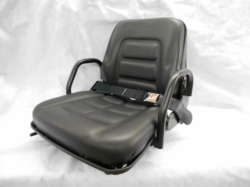 FOLD DOWN SEAT FORKLIFT CLARK, CAT, HYSTER,YALE,TOYOTA, CROWN, HIP RESTRAINT #GE