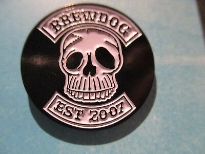 Brewdog Brew Dog Skull Logo Lapel Pin Badge Button Craft Brewery Brewing