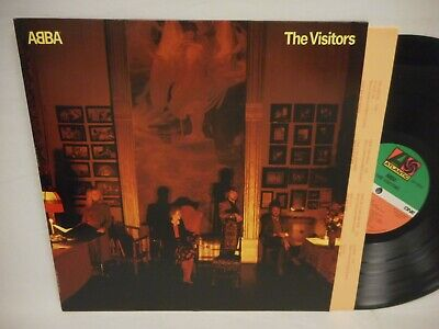 ABBA The Visitors LP NM 1981 Atlantic SD 19332 w/ lyric sleeve
