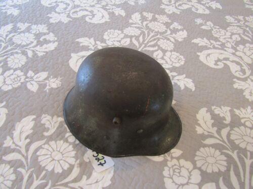 Super Rare Austrian WW1 TRANSISTIONAL HELMET,ORGINIAL BALE, INTACT LINER,APPLE G