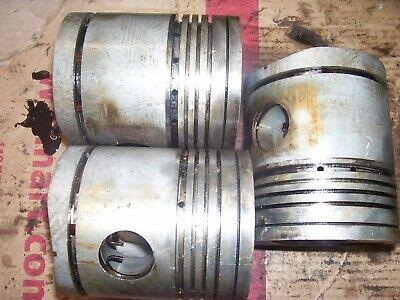 Vintage Fordson Major Diesel Tractor - Engine Pistons 4 Diameter