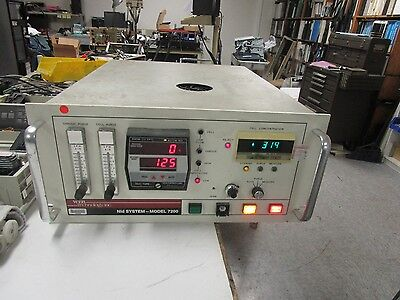 Web Technology Nid System Model  7200 F Vapor Detection System