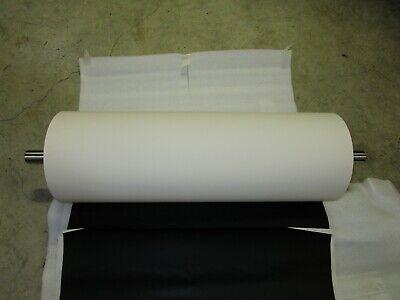 Indupak Bv 8 Od X 23-34 Rubber Coated Conveyor Drumroller Shaft Dia. 1.1875