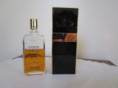 Vintage Coco Chanel ED Parfum Perfume Spray Refillable 2oz 59mL Used