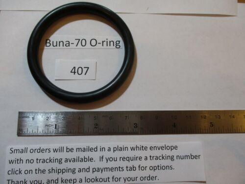 "407 O-ring 2-1/4"" ID x 2-3/4"" OD x 1/4"" thick.  Buna-70.  Quan 1."