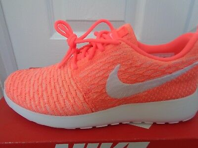 Nike Roshe one Flyknit wmns trainers shoes 704927 800 uk 3.5 eu 36.5 us 6 NEW