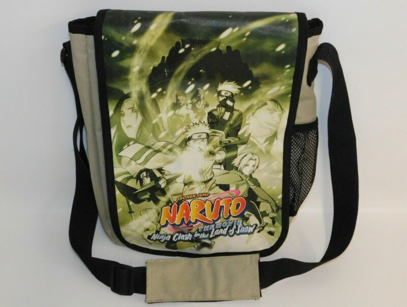Naruto The Movie Messenger Shoulder Bag Satchel Ninja Clash in the Land of Snow