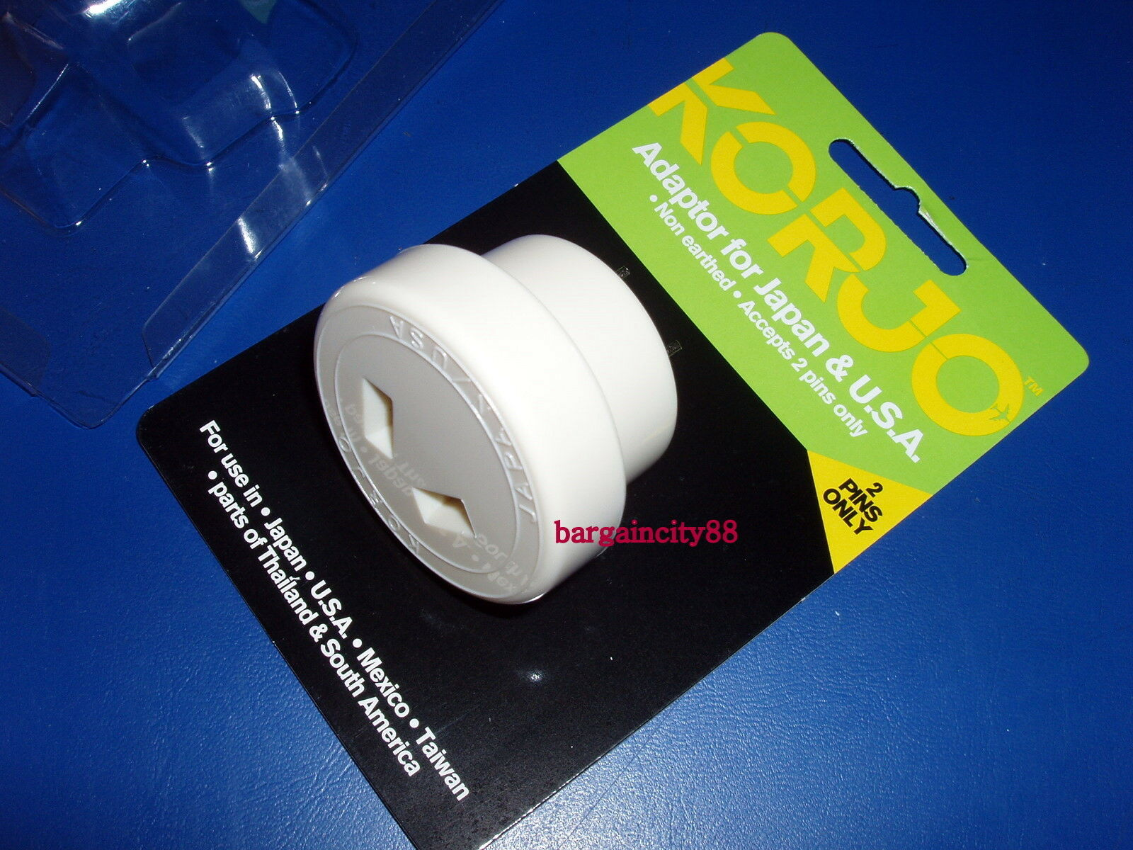 Korjo Travel Plug Adaptor From Australia Au Aus New
