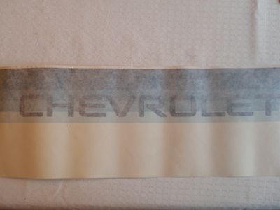 """NEW OEM GM Blue """"CHEVROLET"""" S10 Stripe Tailgate Endgate Decal 15961874"""