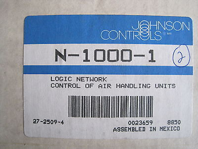 Johnson Controls N-1000-1 Logic Network