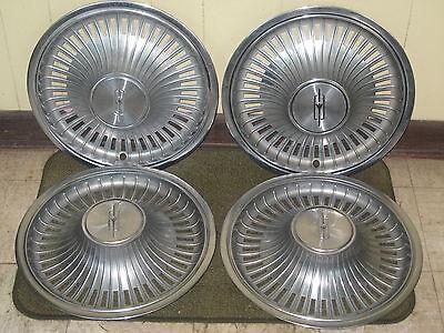 "72 73 Oldsmobile HUB CAPS 14"" Olds Wheel Covers Set of 4"