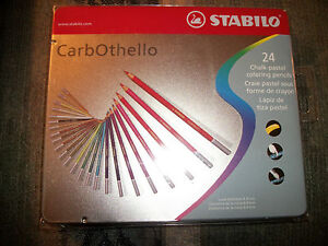 Stabilo-CarbOthello-24-Chalk-pastel-Coloring-Pencils