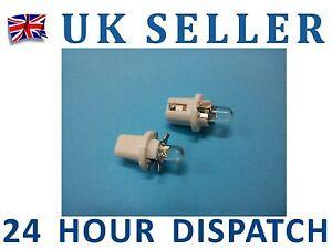 2-X-T5-White-LED-Speedo-Dashboard-Light-Bulbs-Lamps-12V-UK
