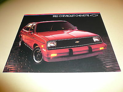 1983 Chevrolet Chevette Sales Brochure - Buy 1 Get Second One Free - Vintage