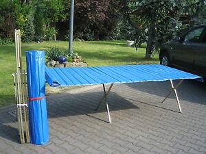 Klapptisch Markttisch Verkaufstisch 2 x 1 m Flohmarkttisch inkl. Rollblatt !!!