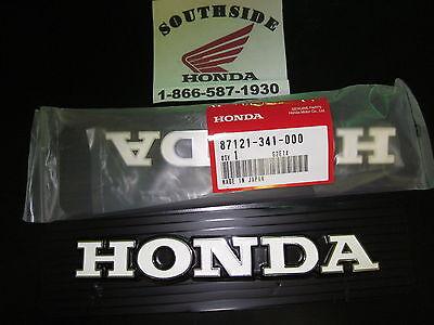 Honda Cb750k Fuel Gas Tank Emblems Set Of 2 Also Includes 4 Emblem Clamps