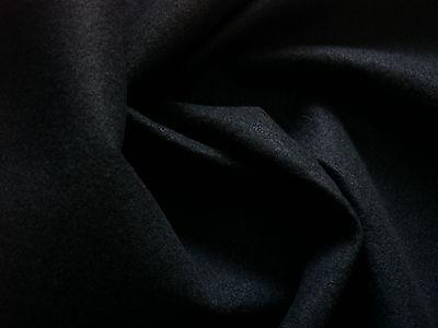 0,5 Laufmeter DEKO- und Bastelfilz schwarz nur 4,42€/m²