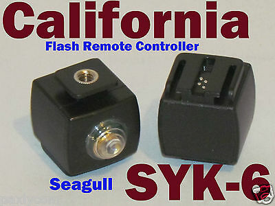 Seagull Syk-6 Flash Hot Shoe Wireless Controller Slave Trigger Sony, Minolta