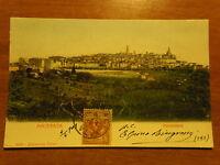 Macerata Bella Cartolina D'epoca Panorama A Colori Viaggiata 04.04.1903 -  - ebay.it