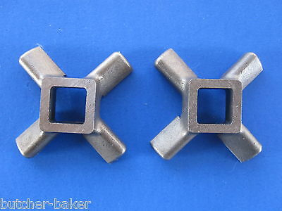 Two Replacement Knife For Vintage Kitchenaid Mixer Metal Meat Grinder Chopper