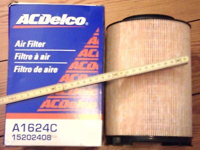 ACDelco   A1624C,  15202408  Luftfilter