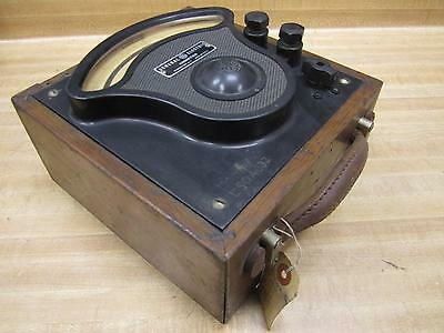 General Electric 3680915 Vintage Industrial Amp Meter Wo Lid Antique