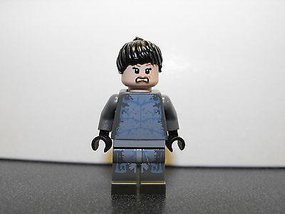 Lego Custom All Gray Girl Minifigure