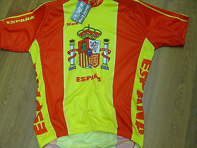 Cycling Jersey Brand Size X-x Large Jersey Red Color Mens E5