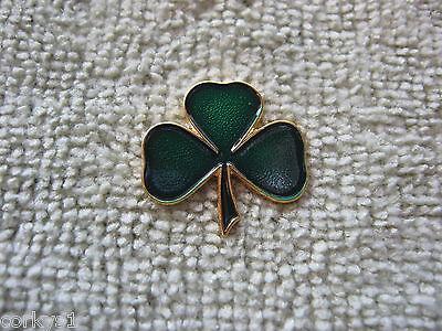 "Gaelic Shamrock Lapel Pin Ireland ""IRISH SHAMROCK"" Pin/Badge Celtic AOH LAOH"