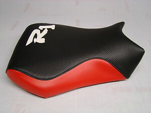 YAMAHA-98-9-YZF-R1-FRONT-SEAT-COVER-BLACK-CARBON-F-RED