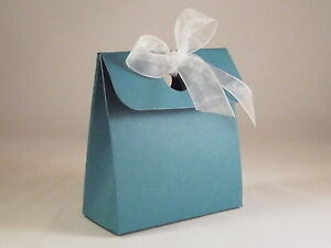 Box Bag Wedding Favour Boxes - Choose Colour - Choose QTY - SC12. 10, 50, 100