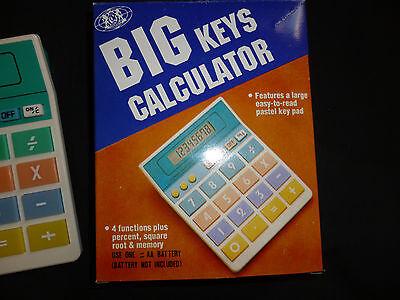 Brand Big Keys Calculator In Box Good For Kids, Seniors...