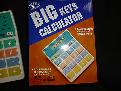Brand Big Keys Calculator In Box Good For Kids, Seniors...