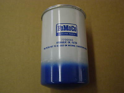 Ford Tractor Farm Implement Hydraulic Oil Filter 7700040
