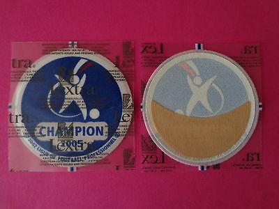 Patch LFP Champion officiel LEXTRA 2005 Lyon OL